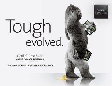 Odolné sklo Corning Gorilla Glass 3