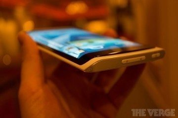 Vzorek s ukázkou technologie Samsung Youm