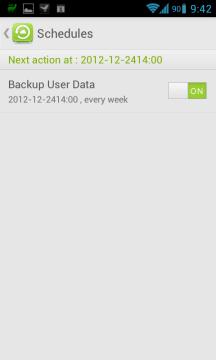 GO Backup Pro nabízí automatickou zálohu