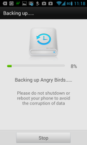 Zálohují se Angry Birds i s daty