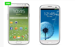 Srovnání Samsungu Galaxy S IV se stávajícím modelem