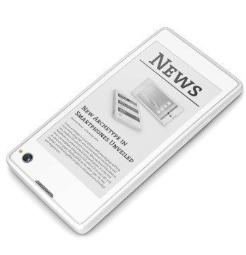 4,3palcový displej s technologií e-ink