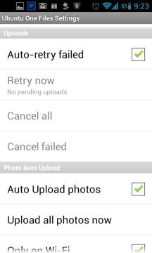 Automatické opakování nezdařených uploadů