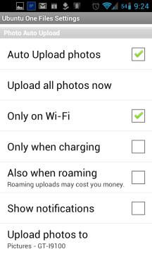 Konfigurace automatického nahrávání obrázků