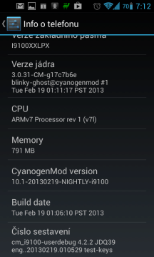 CyanogenMod 10.1-20130219-NIGHTLY