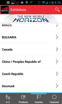 Seznam firem podle zemí