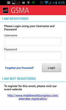 Sekci Networking můžete navštívit po registraci