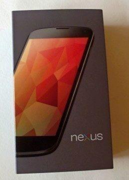 Nexus 4 - krabička