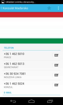 Podrobnosti kontaktu v aplikaci Lidé