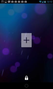 Na odemykací obrazovku můžete umístit widgety