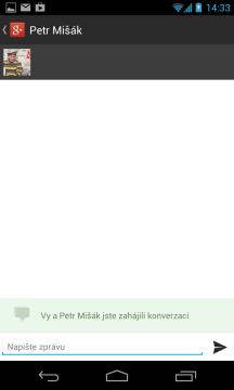 Pokec je jednoduchý chat v rámci sociální sítě Google+.