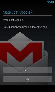 Přihlášení nebo vytvoření účtu Google