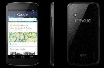 Nexus 4 ze všech stran (tisková fotografie)