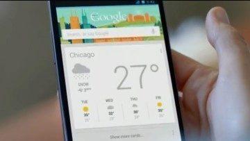 Google Now má být jednou z hlavních konkurenčních výhod systému Android