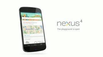 LG Nexus s osobním asistentem Google Now