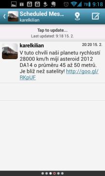 HootSuite: možnost plánování tweetů
