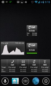 Traffic Counter: widgety na domovskou obrazovku