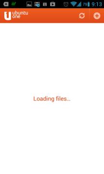 Hlášení Loading files jsme viděli často
