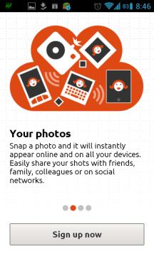 Automatické nahrávání fotek do cloudu a jejich snadné sdílení