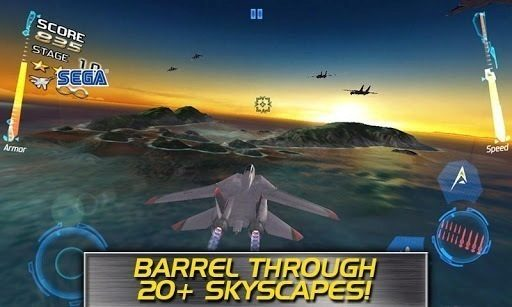 after burner climax android game 1