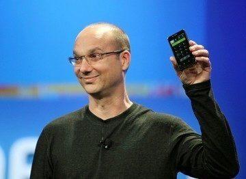Andy Rubin Google's senior vice president of mobile and digital
