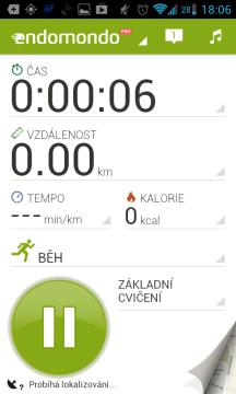 Endomondo Sports Tracker: měření sportovního výkonu