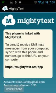 Aplikace je nainstalována.
