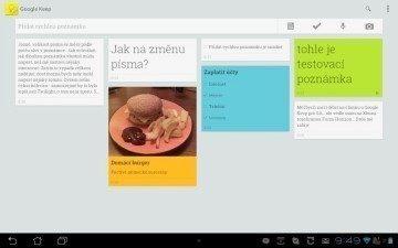 Aplikace Keep má o poznání příjemnější design