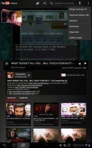 Vpravo nahoře naleznete menu, ve kterém zvolíte položku Připojit YouTube TV