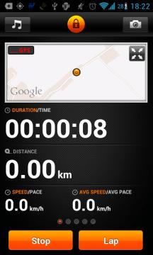 Sports Tracker: sportujeme