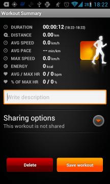 Sports Tracker: závěrečné hodnocení