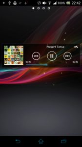 Widget WALKMAN