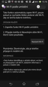 Wi-Fi podle umístění