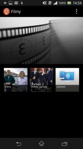 Aplikace Filmy
