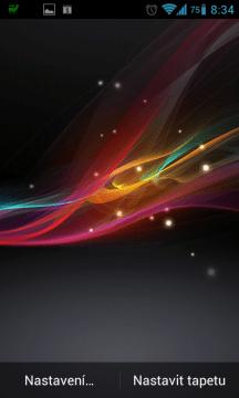 Xperia Z Live Wallpaper od Wasabi