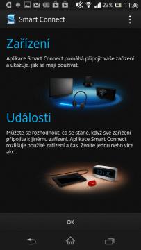 Aplikace Smart Connect