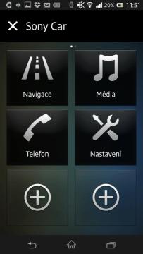 Sony Car oceníte při řízení auta