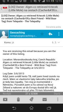 GMail - otevřený e-mail