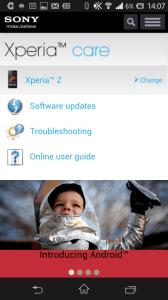 Sony Xperia Care