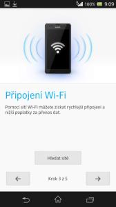 Připojení k Wi-Fi