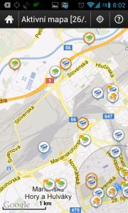 Zlepšení a rozšíření detekce typu keše na živé mapě
