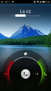Volání Xiaomi Mi2