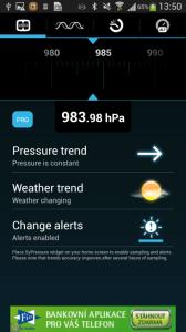 V útrobách Galaxy S4 se zabydlel i netradiční barometr