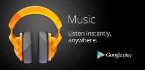 Banner Google Play Music