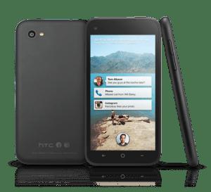 HTC First představuje jednoduchý design a plastové tělo