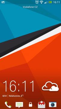 Zamykací obrazovka Sense patří k tomu nejlepšímu, co můžeme v Androidu mít