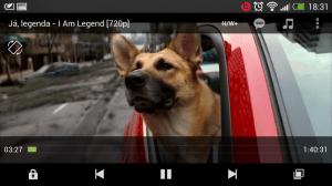 MX Player již poslušně přehrával téměř všechna videa
