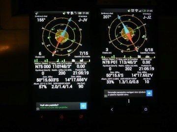HTC měl delší fixaci, přesnost ale indikoval vyšší než One X+
