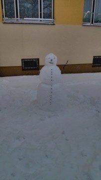 sněhulák HDR