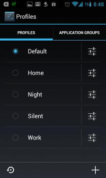 Profily nastavení podporuje například alternativní ROM CyanogenMod